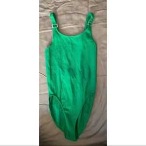 Out From Under Green Bodysuit